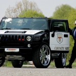 Hummer H2 Police Car - GeigerCars